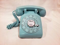 Vintage telephone back then when you were a cheerleader and you thought math was like making a phone call.