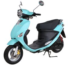 Turquoise Buddy 50cc Scooter