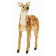 Hansa Toys Life Size Deer Stuffed Animal Giant Animals