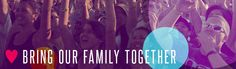 Our Father wants Heaven Fest to function as a Family Reunion that brings together different denominations, races, and generations, because He's a Dad, who wants to hang out with His kids. :)