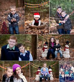 Cool props for a holiday session @ Kristi baumgarten photography. Child Photography / Siblings / Family / Prop Ideas / Christmas Card Ideas