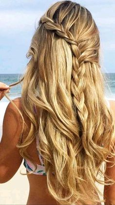 Messy Braided Hairstyles, Box Braids Hairstyles, Hairstyle Ideas, Wedding Hairstyles, Hairstyles Haircuts, Bridesmaid Hairstyles, Amazing Hairstyles, Bohemian Hairstyles, Layered Hairstyles