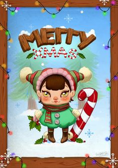 Create an Adorable Christmas Card in Photoshop - Photoshop Tutorials Best Of 2013 Year End