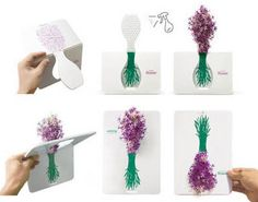 Korean designer, Lee Ki Seung designed this one-of-a-kind pop-up greeting card. It's called the Instant blossom flower package letting people share their happy thoughts and inspiration from a flower blossom. The Instant blossom pop-up card transforms the flower's 3D qualities into two-dimensional ones, giving new rules for the traditional flower vase. Just snap the greeting …