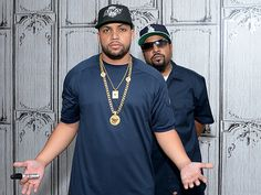 Star Tracks: Thursday, August 6, 2015 | MAJOR MOJO | Ice Cube and his lookalike son O'Shea Jackson Jr. give some serious face in New York City on Wednesday at the AOL BUILD Speaker Series Presents Straight Outta Compton.
