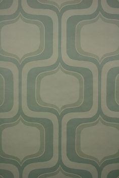 814  vintage retro tapet 70′erne geometrisk mønster – 1