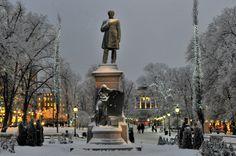 Christmas time in Helsinki, Finland