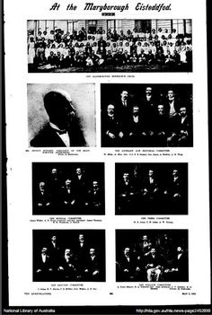 2 May 1903 At the Maryborough Eisteddfod