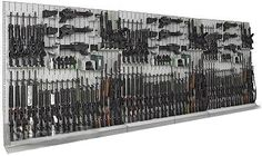 Gun and Weapon Racks Systems with Expandable Components for law inforcment and military