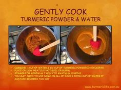Golden Paste - Turmeric Recipes