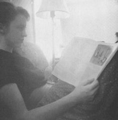 Plath reading her poems in the New Yorker...a sad sight indeed..to be reminded of how you feel by your own words