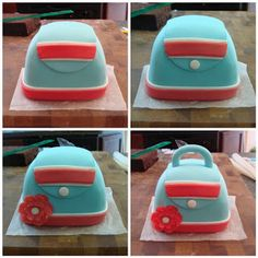 Cupcake Envy: Step by Step - the Purse Cakelet