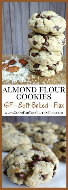 You gotta try these Three-Bite Almond Flour Cookies - Soft-baked, Gooey Gluten-Free Chocolate Chip Cookie Recipe - Good For You Gluten Free