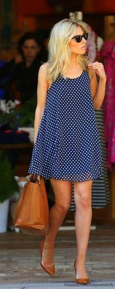 polka dot jumper dress
