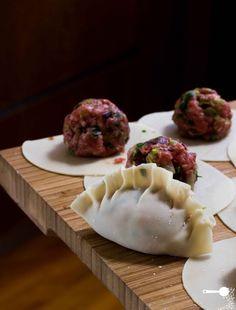 Chinese Lamb Dumplings