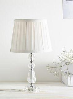 Clear kylie table lamp