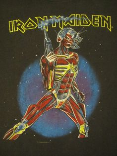 Iron Maiden 87 Tour     me: saw this tour 1986 own this shirt in my size the back looks cooler