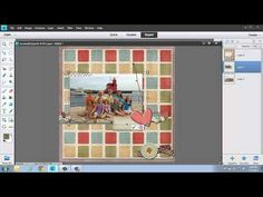 Digital Scrapbooking Using Photoshop Elements Quick Pages Part 1 - This is part 1 of a 2 part series on using Quick Pages in Photoshop Elements. Be sure to go to www.naods.com for additional FREE training!