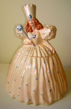 Rare Collectible Cookie Jars | RARE Collectible Warner Bros. Fairy God Mother / Queen Cookie Jar ...