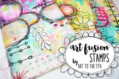 art fusion stamps are here — R A E M I S S I G M A N