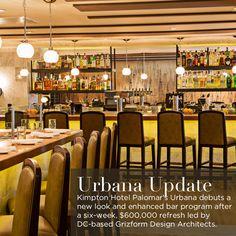 New Bar Menu, Enhanced Happy Hour and Saturday Apertivo Hour at Urbana.