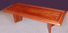 All solid African mahogany wood executive conference room table handcrafted by Specialty Woods for a N.Y. Medical Facility