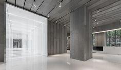 aluminum lobby | AIM Architecture