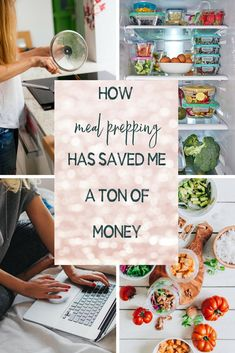 How meal prepping has saved me a ton of money! How much money have I saved by preparing meals! Best Meal Prep, Meal Prep For The Week, Clean Eating Recipes, Diet Recipes, Healthy Recipes, Portion Control Diet, Meal Prep For Beginners, Workout To Lose Weight Fast, Weight Loss Meal Plan