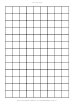 Need graph paper templates? Print six free graph paper template PDFs. Choose from a variety of grid sizes. Grid Paper Printable, Printable Letters, Preschool Charts, Preschool Worksheets, Sticker Chart, Jumper Knitting Pattern, Collage Template, Project Planner, Parchment Craft
