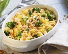Gratin de pâtes croustillant au brocoli : http://www.fourchette-et-bikini.fr/recettes/recettes-minceur/gratin-de-pates-croustillant-au-brocoli.html