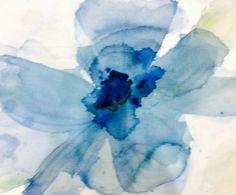 Watercolour blues