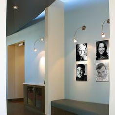 Patient wall  Green Curve Orthodontic Office Design Portfolio   Brian S. in Santa Cruz, CA