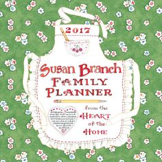Schedule errands, appointments, travel, and meetings for the entire family with this convenient wall calendar planner. Charming, homey illustrations bring traditional appeal to your living room or kit