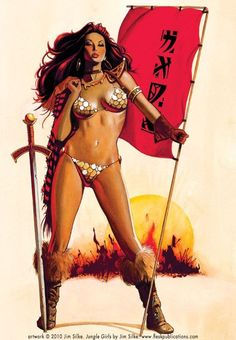 Red Sonja - Jim Silke