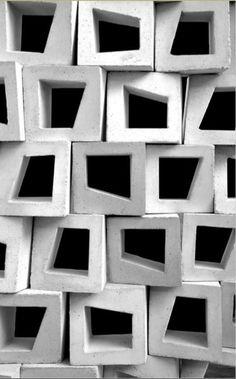 Celosía #muroblanco #concreto #diseño #interiorismo