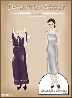 Downton Abbey Paper Dolls by Cecilia-Pekelharing.deviantart.com on @DeviantArt