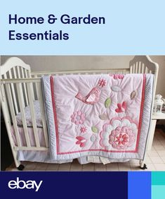 fb6ce54d60f99 Harriet Bee Donaway Happy Enchanted Birds 6 Piece Baby Girl Nursery Crib  Bedding Set