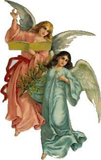 Twee Engelen en Boek