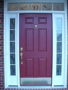 Front Door Glass Inserts | http://thewrightstuff.us | Pinterest ...