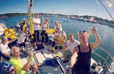 Sailing in Stockholm Archipelago | Sailracing in Sweden | Swedish summer | Travel to Sweden