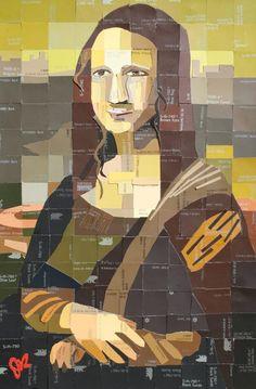 DIY Mona Lisa 3 [Jennifer Lashbrook] (Gioconda / Mona Lisa)