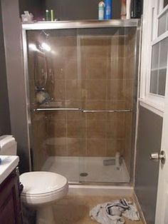 cleaning glass shower doors, would have never thought of this trick!