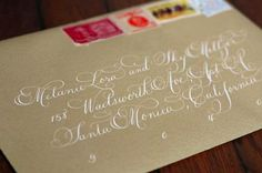 Laura Hooper Calligraphy
