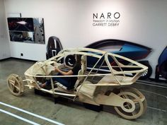 College-Ausstellung: Art Center Summer 2015 - Car Design News - electric cars Velo Design, Bicycle Design, Electric Trike, Electric Cars, Reverse Trike, Pedal Cars, Kit Cars, Transportation Design, Go Kart