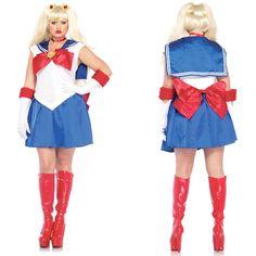 sailor moon plus size costume