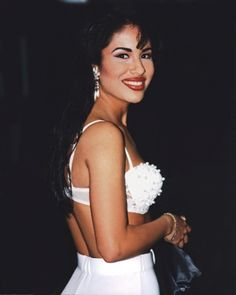 Selena Quintanilla-Pérez. A beautiful Hispanic woman, she doesn't need to be anything else.                                                                                                                                                      More