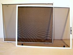 Learn How to Build or Repair Window Screens   Mobile Home Repair
