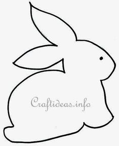 Best ideas for patchwork quilt applique simple Easter Bunny Template, Bunny Templates, Applique Templates, Applique Patterns, Craft Patterns, Quilt Patterns, Easter Arts And Crafts, Bunny Crafts, Easter Projects