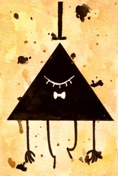 Bill Cipher by StarsInMyCoffee on Devianart