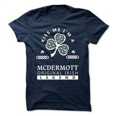 MCDERMOTT - KISS ME I\M Team - #t'shirt quilts #hoodie schnittmuster. MORE INFO => https://www.sunfrog.com/Valentines/-MCDERMOTT--KISS-ME-IM-Team.html?68278